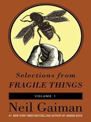 Cover of: Selections from Fragile Things, Volume 1