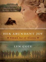 Cover of: Her Abundant Joy