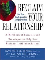 Cover of: Reclaim Your Relationship