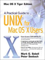 Cover of: A Practical Guide to UNIX® for Mac OS® X Users