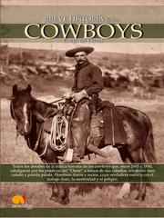 Cover of: Breve Historia de los Cowboys