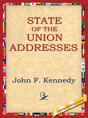 Cover of: State of the Union Addresses