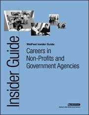 Cover of: Careers in Non-Profits and Government Agencies