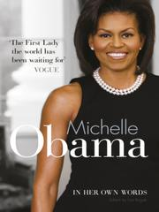 Cover of: Michelle Obama In Her Own Words