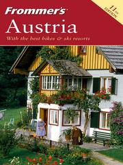 Cover of: Frommer's Austria