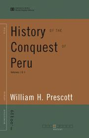 Cover of: History of the Conquest of Peru