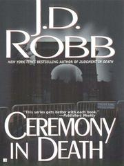 Cover of: Ceremony in Death