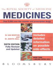 Cover of: Royal Society of Medicine: Medicines