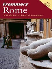 Cover of: Frommer's Rome