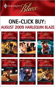 Cover of: One-Click Buy: August 2009 Harlequin Blaze