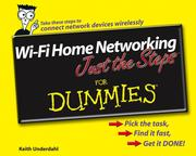 Cover of: Wi-Fi Home Networking Just the Steps For Dummies