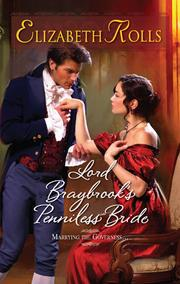 Cover of: Lord Braybrook's Penniless Bride