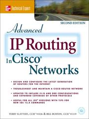 Cover of: Advanced IP Routing in Cisco® Networks