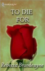 Cover of: To Die For