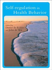 Cover of: Self-Regulation in Health Behavior