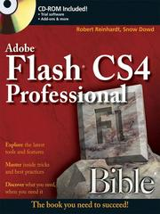 Cover of: Flash CS4 Professional Bible