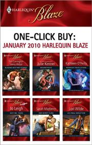 Cover of: One-Click Buy: January 2010 Harlequin Blaze