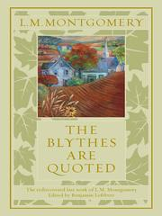 Cover of: The Blythes are quoted