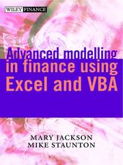 Cover of: Advanced Modelling in Finance using Excel and VBA