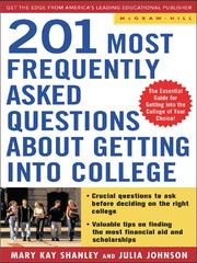 Cover of: 201 Most Frequently Asked Questions about Getting into College