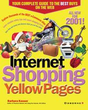 Cover of: Internet Shopping Yellow Pages, 2001