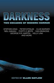Cover of: Darkness