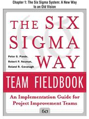 Cover of: The Six Sigma System