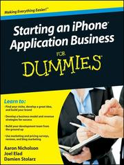Cover of: Starting an iPhone Application Business For Dummies