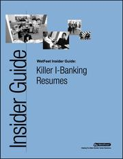 Cover of: Killer I-Banking Resumes