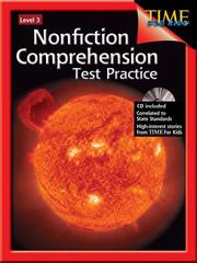 Cover of: Nonfiction Comprehension Test Practice Level 3