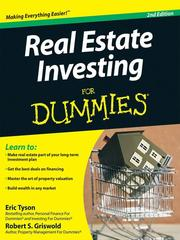 Cover of: Real Estate Investing For Dummies®