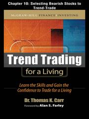 Cover of: Selecting Bearish Stocks to Trend Trade