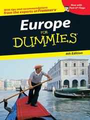 Cover of: Europe For Dummies