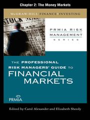 Cover of: The Money Markets