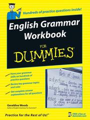 Cover of: English Grammar Workbook For Dummies