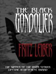 Cover of: Black Gondolier