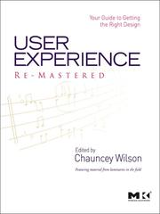Cover of: User Experience Re-Mastered