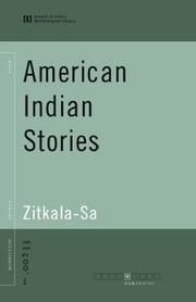 Cover of: American Indian Stories