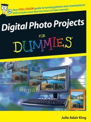 Cover of: Digital Photo Projects For Dummies