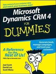 Cover of: Microsoft Dynamics CRM 4 For Dummies