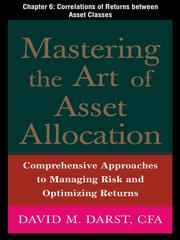 Cover of: Correlation of Returns Between Asset Clauses