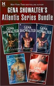 Cover of: Gena Showalter's Atlantis Series Bundle