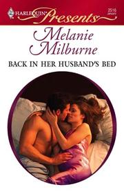 Cover of: Back in her Husband's Bed