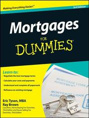 Cover of: Mortgages For Dummies®