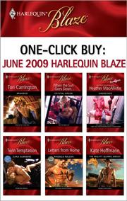 Cover of: One-Click Buy: June 2009 Harlequin Blaze