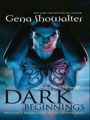 Cover of: Dark Beginnings