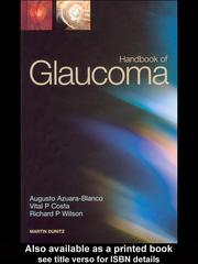 Cover of: Handbook of Glaucoma