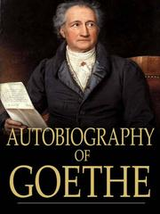 Cover of: Autobiography of Goethe