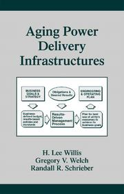 Cover of: Aging Power Delivery Infrastructures
