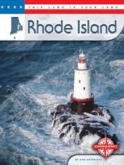 Cover of: Rhode Island